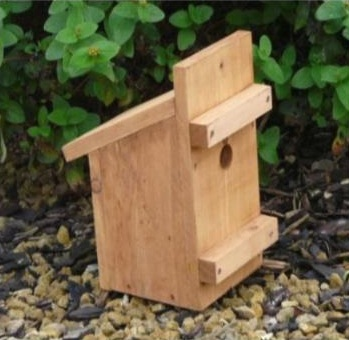 An example of one of the hundreds of dormouse boxes made in prison industries for PTES and the Dormouse project