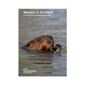 Beavers in Scotland report front cover. ©SNH