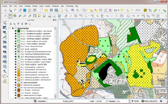 QGIS and QGIS training - National Biodiversity Network