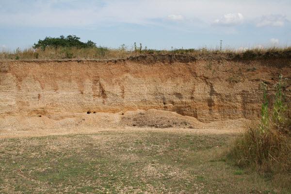 Gravel Pit at Thundridge c Trevor James