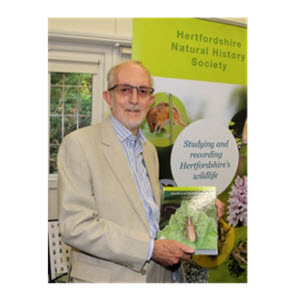 Trevor James launching The Beetles of Hertfordshire