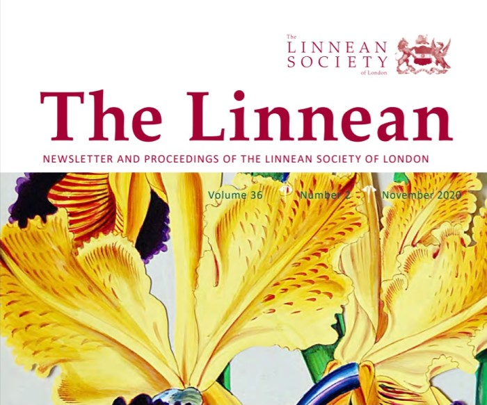 Takes you to The Linnean Newsletter